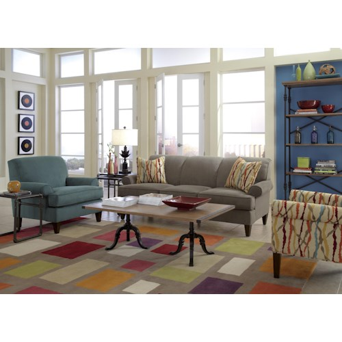 Flexsteel Venture Stationary Living Room Group Colder 39 S Furniture And Appliance Upholstery Group
