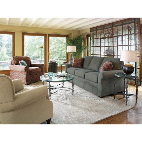 flexsteel whitney stationary living room group hudson 39 s
