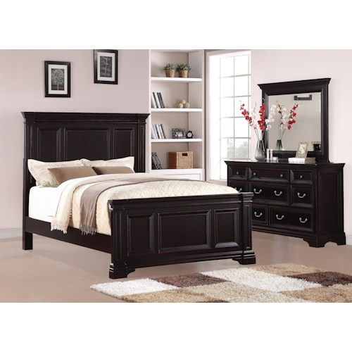 Flexsteel Wynwood Collection Camberly Bedroom Group Godby Home Furnishings Bedroom Group