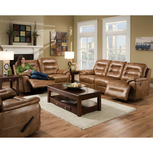 Franklin Freedom Reclining Living Room Group Olinde 39 S Furniture Reclining Living Room Group