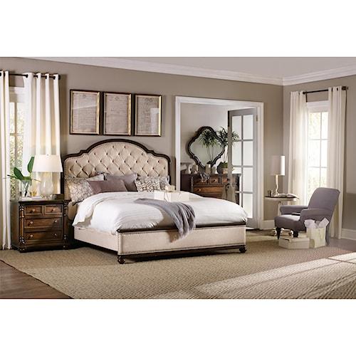 Hooker Furniture Leesburg Queen Bedroom Group Stoney