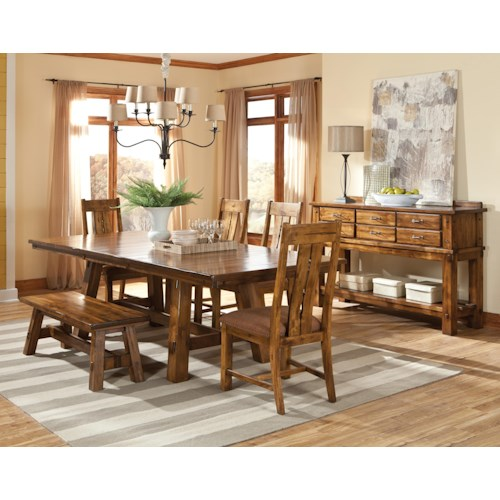 Intercon Timberline Casual Dining Room Group Story Lee Furniture Casual Dining Room Group