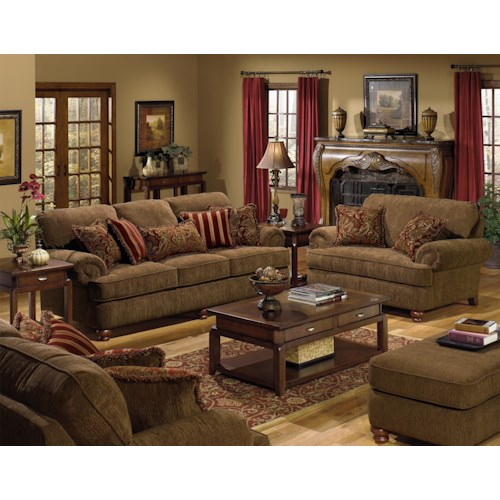 Jackson Furniture 4347 Belmont Stationary Living Room Group Adcock Furnitur