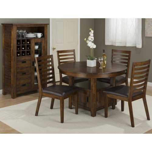 casual dining room groups jofran coolidge corner casual dining room