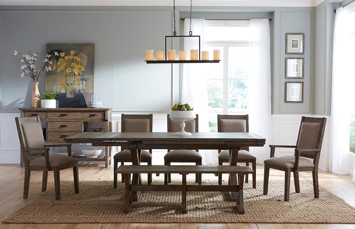 Kincaid Furniture Foundry Formal Dining Room Group ...