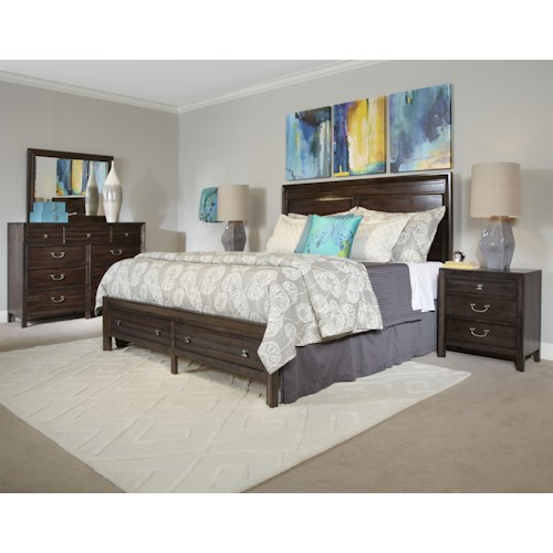 Kincaid Furniture Montreat King Bedroom Group Belfort Furniture Bedroom Groups
