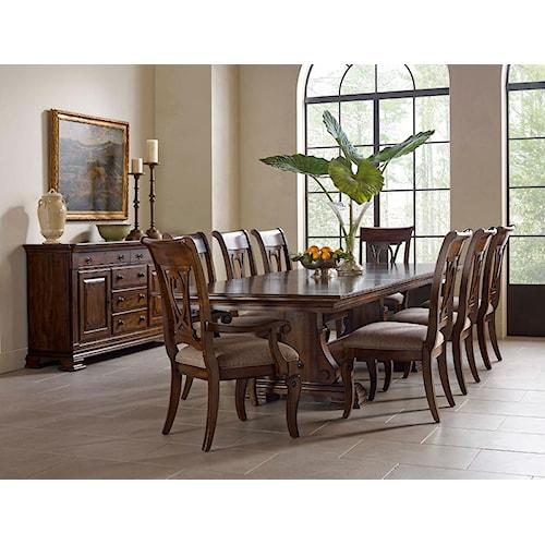 Kincaid Dining Room: Kincaid Furniture Portolone Formal Dining Room Group