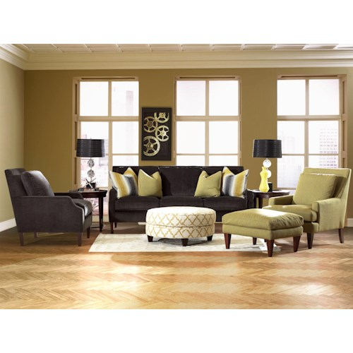 Klaussner Becca Stationary Living Room Group Hudson 39 S Furniture Upholstery Group Tampa St