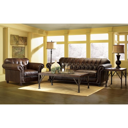 Klaussner Flynn Stationary Living Room Group Hudson 39 S Furniture Upholstery Group Tampa St