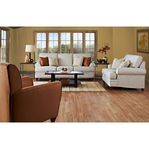 klaussner fresno stationary living room group hudson 39 s
