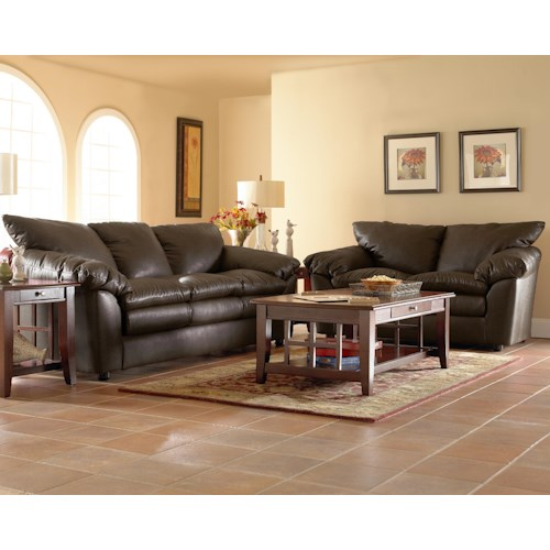 Klaussner Heights Stationary Living Room Group Hudson 39 S Furniture Upholstery Group Tampa St
