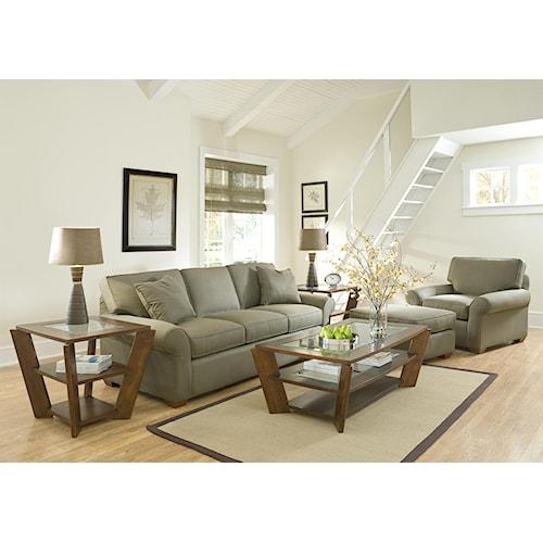 Klaussner Patterns Stationary Living Room Group Hudson 39 S Furniture Up
