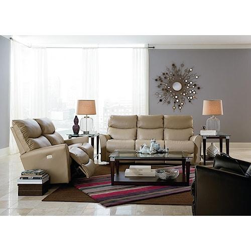 La z boy rowan reclining living room group boulevard for La z boy living room set