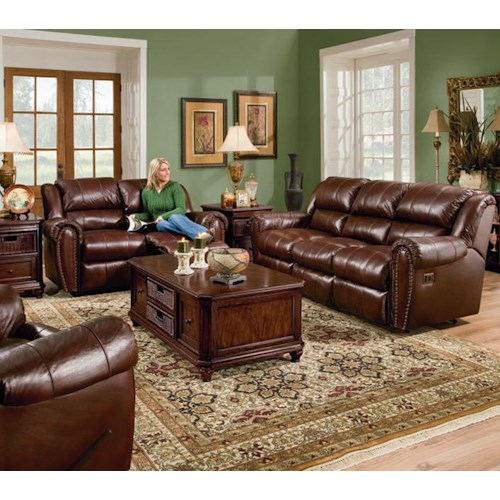 Lane express summerlin reclining living room group for Living room furniture groups