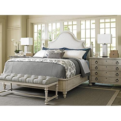 Lexington oyster bay queen bedroom group jacksonville furniture mart bedroom group for Bedroom expressions fort collins