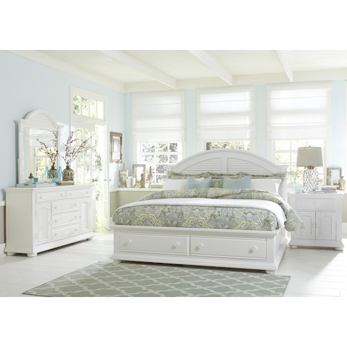 Liberty Furniture Summer House Queen Bedroom Group Furniture Fair North Carolina Bedroom