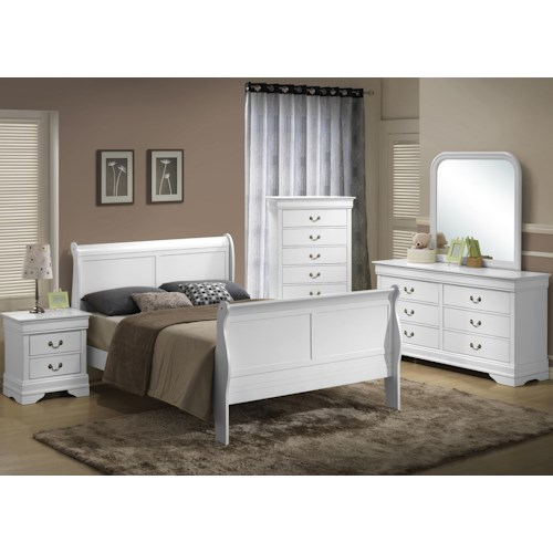 Lifestyle 5939 Queen Bedroom Group Furniture Fair
