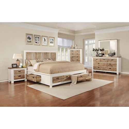 lifestyle c347 king bedroom group pilgrim furniture city bedroom