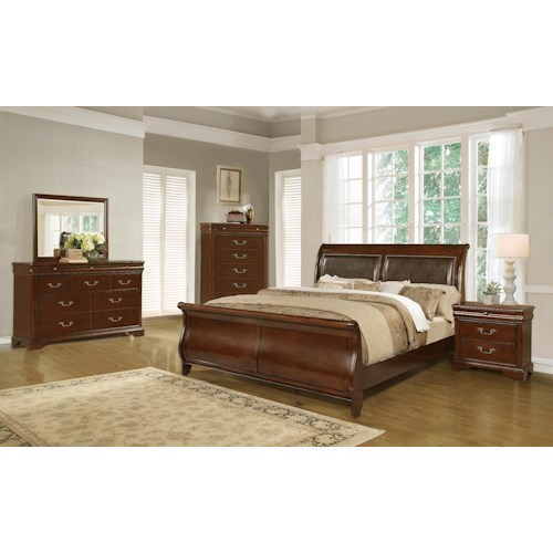 lifestyle c4116a queen bedroom group regency furniture bedroom