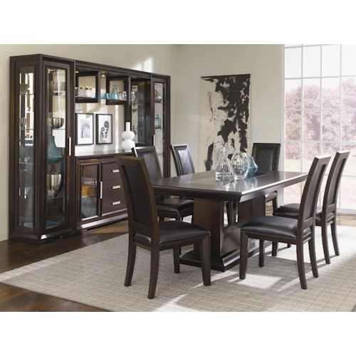 Najarian Brentwood Casual Dining Room Group Fashion Furniture Casual Dining Room Group