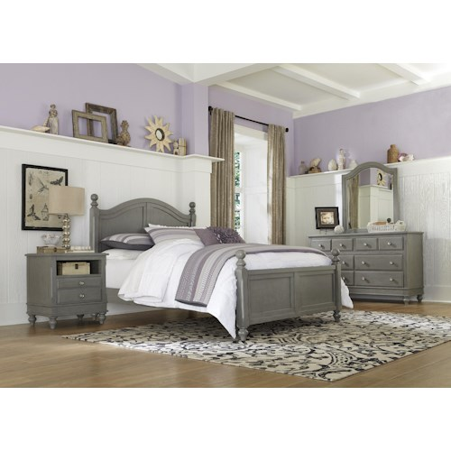 Ne kids lake house twin payton standard bed group 5 wayside furniture bedroom groups Lake home bedroom furniture