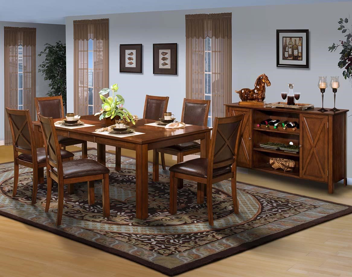New Classic Aspen Dining Room Group Beck s Furniture