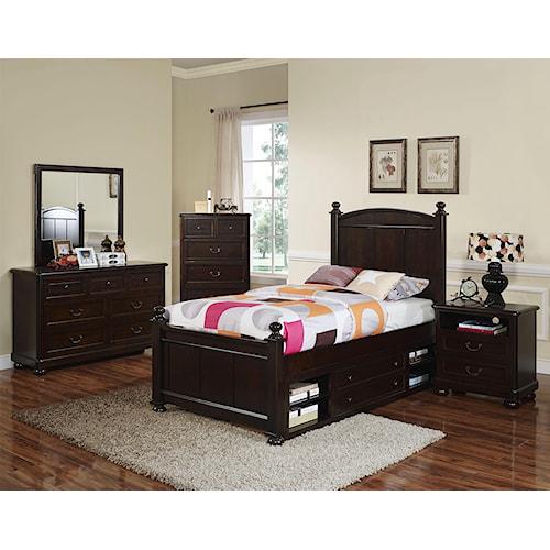 New Classic Canyon Ridge Full Bedroom Group Del Sol