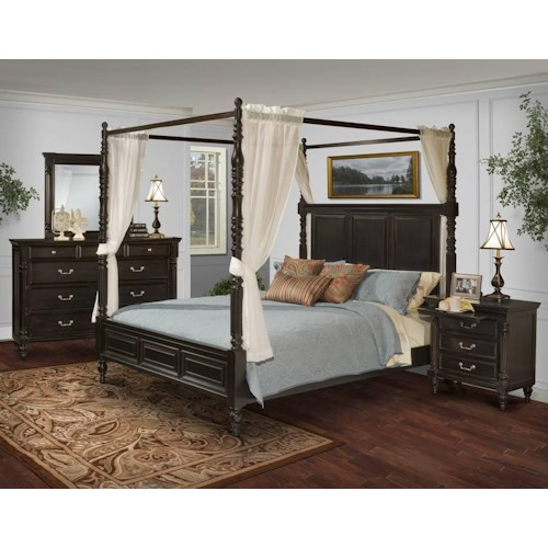 New Classic Martinique Bedroom King Bedroom Group Del