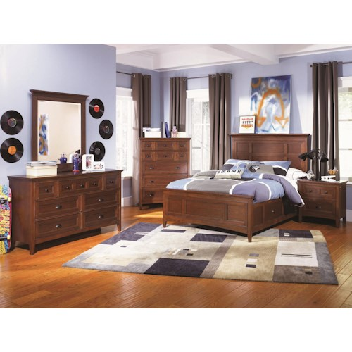 Next Generation By Magnussen Riley Bedroom Group Wayside Furniture Bedroom Group