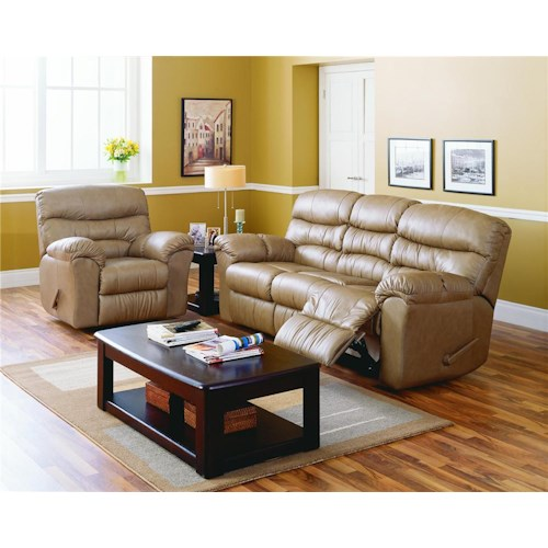Palliser Durant Reclining Living Room Group Wayside Furniture Reclining L
