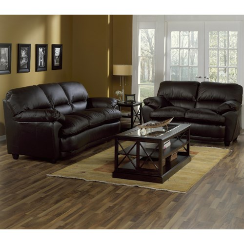 Palliser harley stationary living room group jordan39s for Jordan s furniture living room