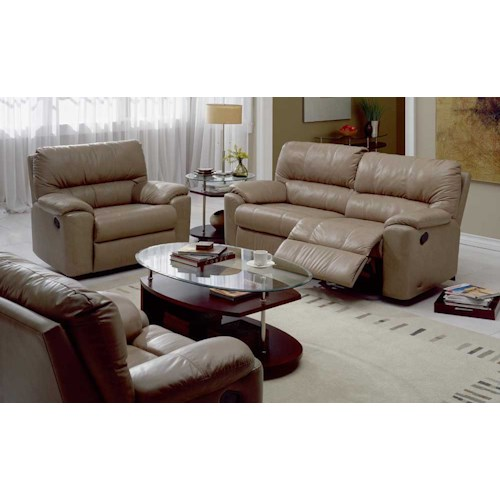 Palliser Yale 41059 Reclining Living Room Group Fashion Furniture Reclini