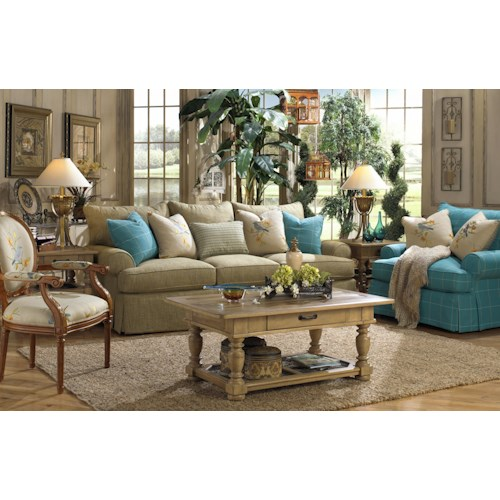 Paula Deen By Craftmaster P997000 Stationary Living Room Group Furniture Barn Stationary