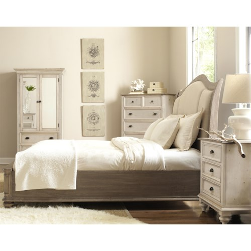 Riverside Furniture Coventry Two Tone Full Queen Bedroom Group Wayside Furniture Bedroom Group