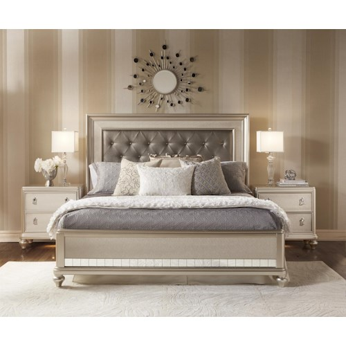 samuel lawrence diva queen bedroom group ivan smith