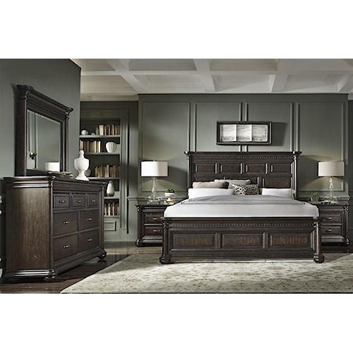 Samuel Lawrence Grand Manor Queen Bedroom Group