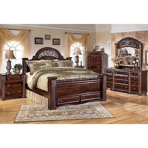 Signature Design By Ashley Gabriela King Bedroom Group Standard Furniture Bedroom Group