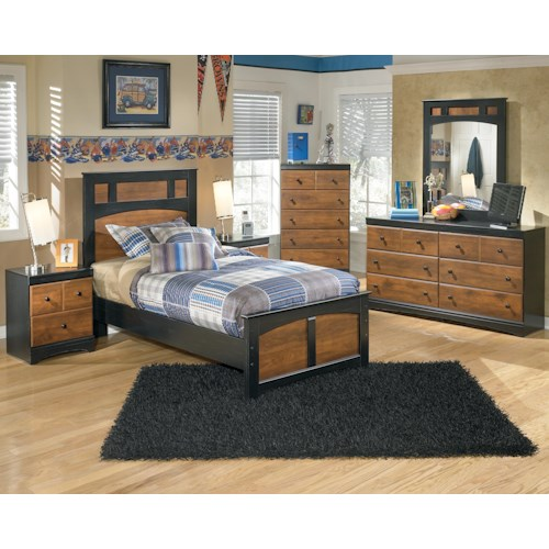 Signature Design By Ashley Aimwell Twin Bedroom Group