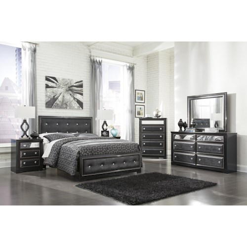 Signature Design By Ashley Alamadyre Queen Bedroom Group Del Sol Furniture