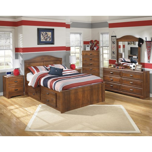 Signature Design By Ashley Barchan Full Bedroom Group Del Sol Furniture Bedroom Group