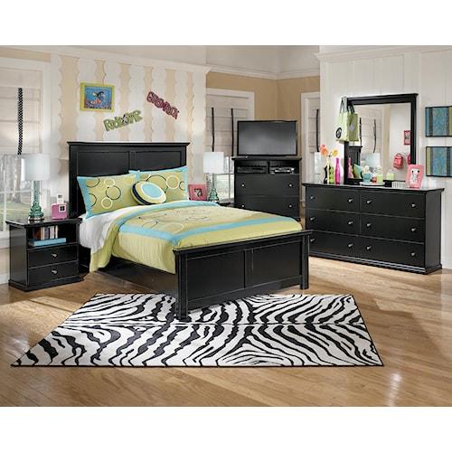 Signature Design By Ashley Maribel Queen Bedroom Group Northeast Factory Direct Bedroom