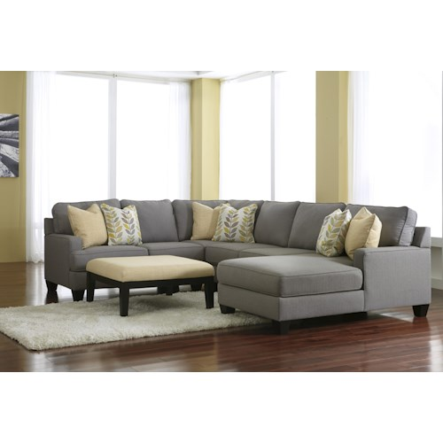Signature Design By Ashley Chamberly Alloy Stationary Living Room Group Godby Home