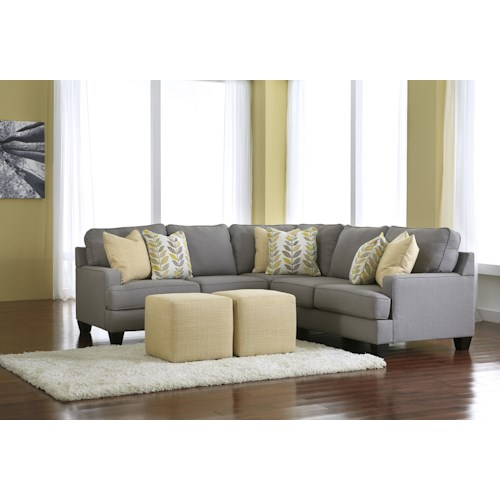 Signature Design By Ashley Chamberly Alloy Stationary Living Room Group Del Sol Furniture