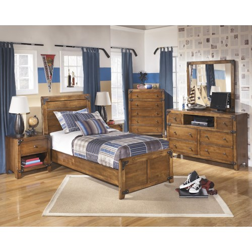 Signature Design By Ashley Furniture Delburne Twin Bedroom Group Sam 39 S Appliance Furniture
