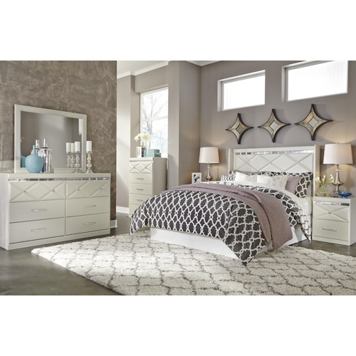 Signature Design By Ashley Dreamur Queen Bedroom Group Furniture And Appliancemart Bedroom