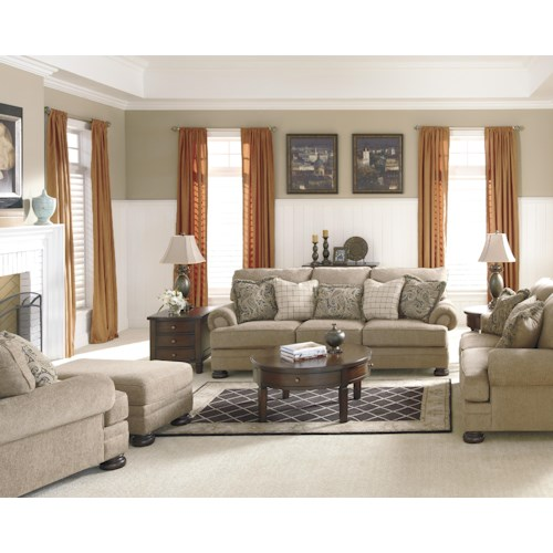 Signature Design By Ashley Keereel Sand Stationary Living Room Group Beck 39 S Furniture