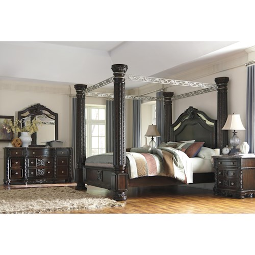 Signature Design By Ashley Laddenfield King Bedroom Group Wayside Furniture Bedroom Group
