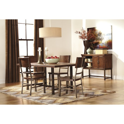 Signature design by ashley riggerton casual dining room for Dining room tables jacksonville nc