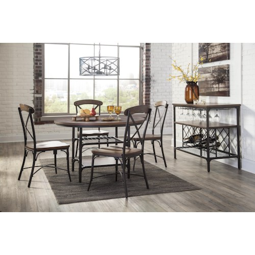 Signature Design By Ashley Rolena Casual Dining Room Group Godby Home Furnishings Casual
