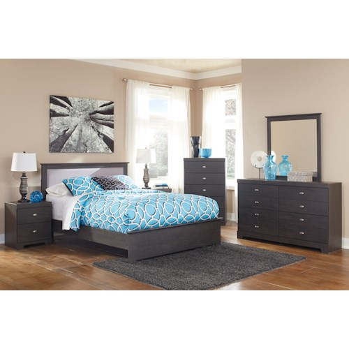 Signature Design By Ashley Shylyn Queen Bedroom Group Furniture Fair North Carolina